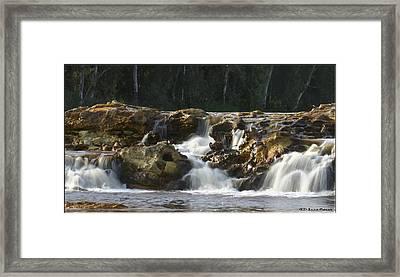 Agua Framed Print by Luis oscar Sanchez