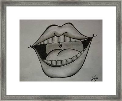 Ahhh... Framed Print by K Walker