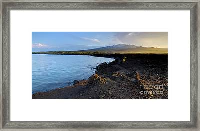 Ahihi Preserve And Haleakala Maui Hawaii Framed Print by Dustin K Ryan