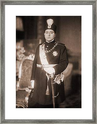 Ahmad Shah Qajar 1897-1929, The Last Framed Print by Everett