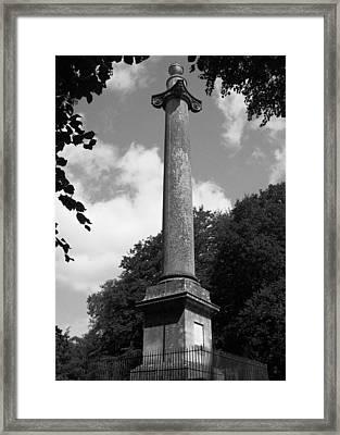 Ailesbury Column Framed Print