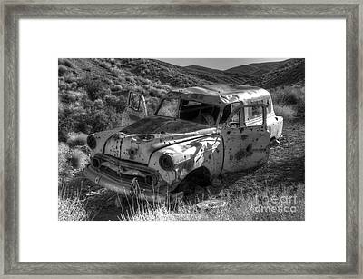 Air Conditioned By Bullet Framed Print by Bob Christopher