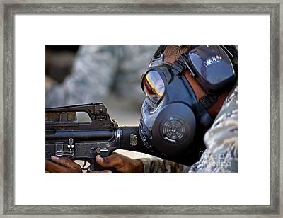 Air Force Basic Military Training Framed Print by Stocktrek Images