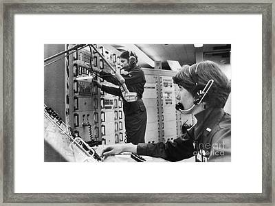 Air Force Crew, 1978 Framed Print