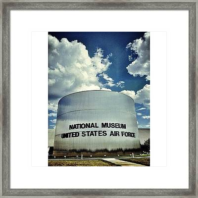 Air Force Museum Framed Print