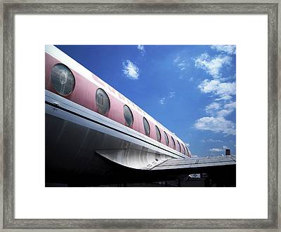 Air Queen Grounded For Now Framed Print