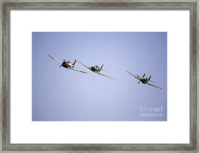 Air Show 11 Framed Print by Darcy Evans