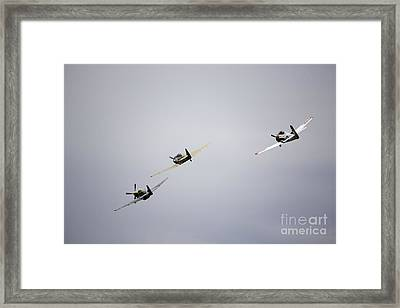 Air Show 13 Framed Print by Darcy Evans