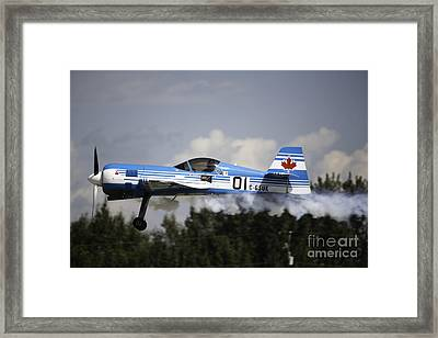 Air Show 14 Framed Print by Darcy Evans