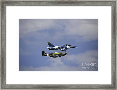 Air Show 2 Framed Print by Darcy Evans