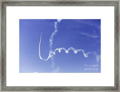 Air Show 5 Framed Print by Darcy Evans