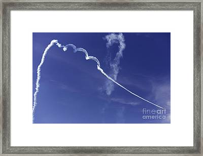 Air Show 9 Framed Print by Darcy Evans