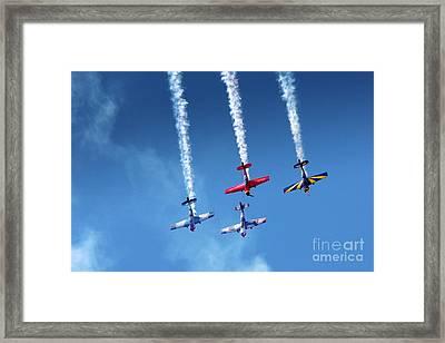 Air Show Framed Print by Carlos Caetano
