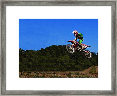 Air Time  Framed Print by David Dehner