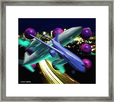 Air Travel Framed Print