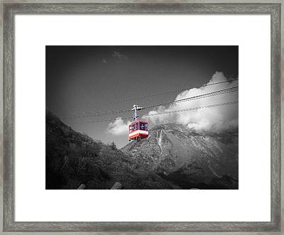 Air Trolley Framed Print by Naxart Studio