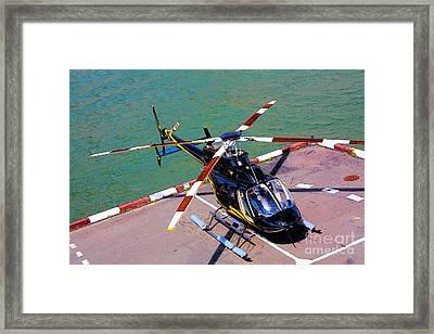 Airborne Framed Print by Rogerio Mariani