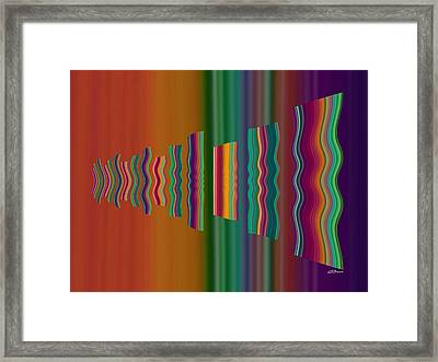 Airing Out The Rugs Framed Print