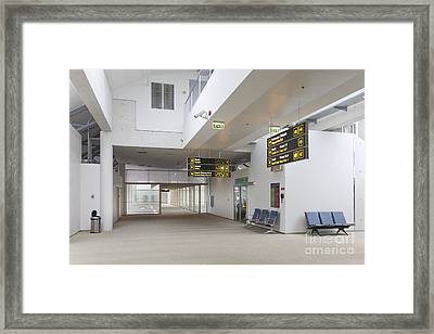 Airport Concourse Framed Print by Jaak Nilson