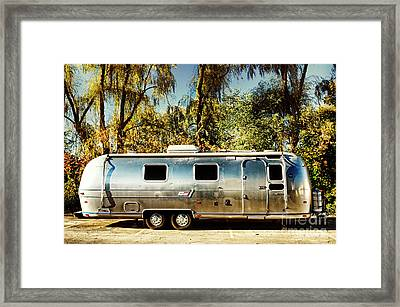 Airstream Framed Print by HD Connelly