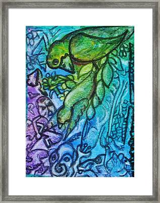 Airy Kcritters Framed Print by Mimulux Patricia No