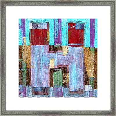 Aitch Framed Print by Carol Leigh