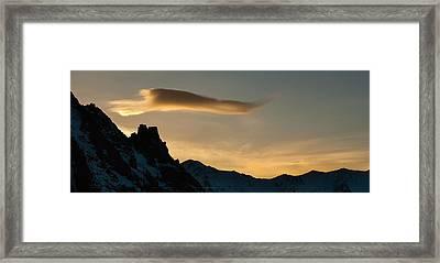Aksai Sunset Framed Print by Konstantin Dikovsky