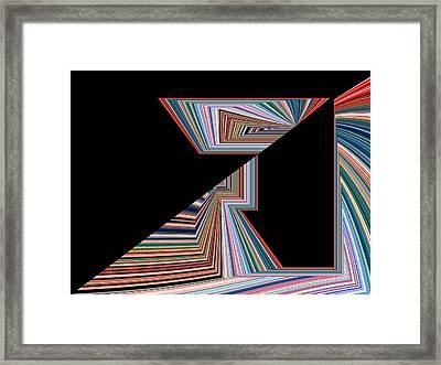 Akshita No.2 Framed Print by Danny Lally