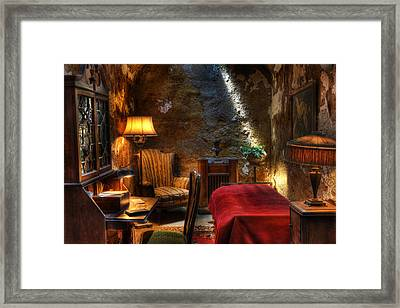 Al Capone's Cell - Easton State - Scarface - The Syndicate - The Chicago Outfit - Capones  Framed Print by Lee Dos Santos