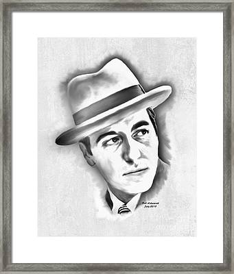 Al Pacino As Michael Corleone Of The Godfather Framed Print
