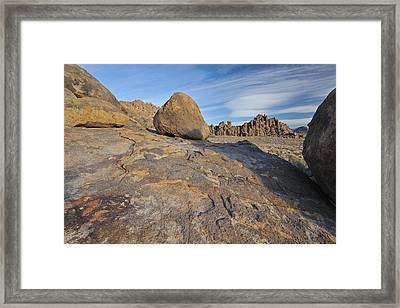 Alabama Hills Framed Print
