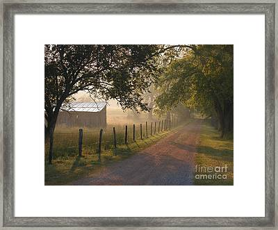 Alabama Morning Framed Print by Don F  Bradford