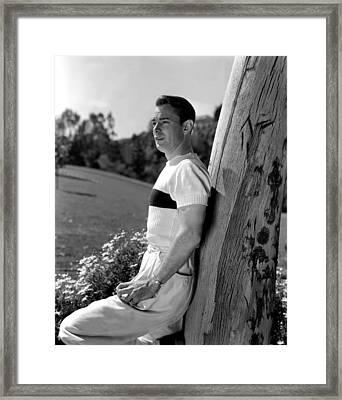 Alan Ladd, 1942 Framed Print