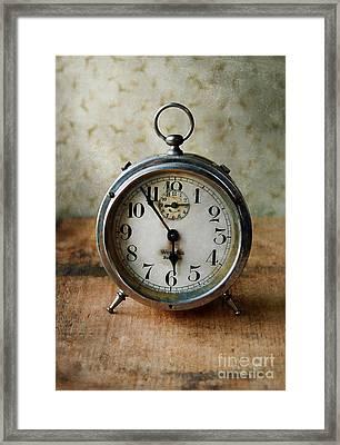 Alarm Clock Framed Print by Jill Battaglia