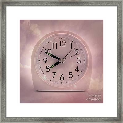 Alarrm Clock Framed Print by Bernard Jaubert
