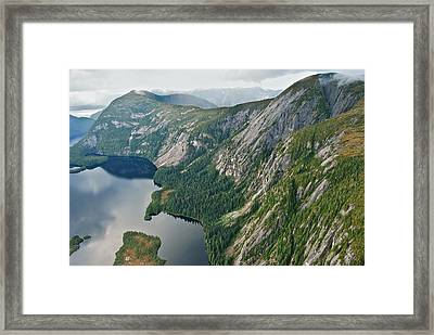 Alaska 8865 Framed Print by Michael Peychich
