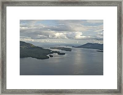 Alaska 9007 Framed Print by Michael Peychich
