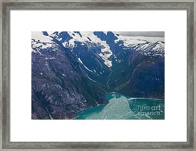 Alaska Coastal Framed Print by Mike Reid