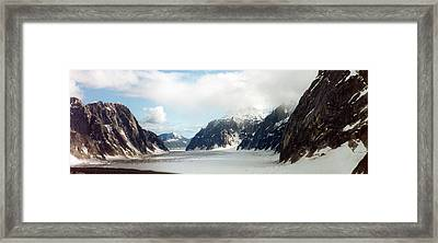 Framed Print featuring the photograph Alaska Glacier by C Sitton