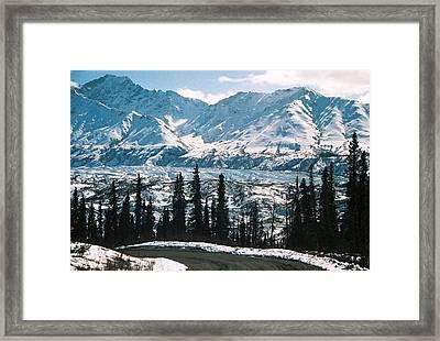 Alaska Icefield Framed Print