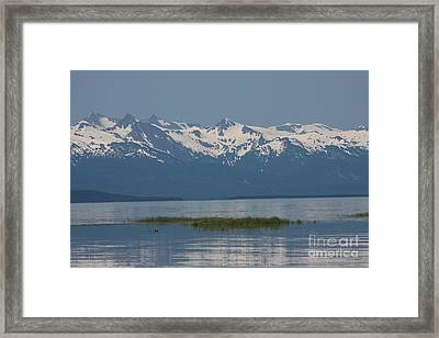 Alaska Mountain Range Framed Print