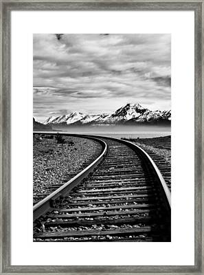 Alaska Railroad Framed Print