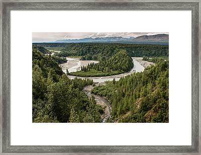 Alaska Railroad Two Framed Print by Josh Whalen