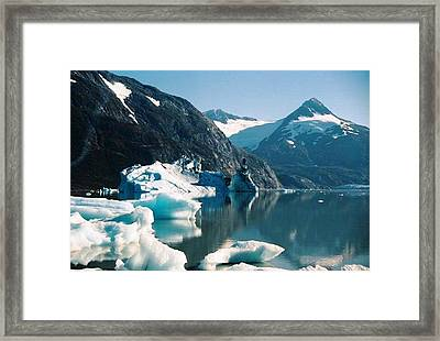 Alaska Reflections Framed Print by Judyann Matthews