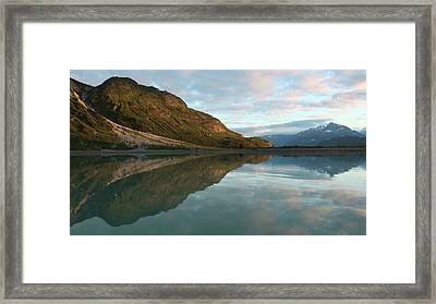 Alaskan Illusion Framed Print