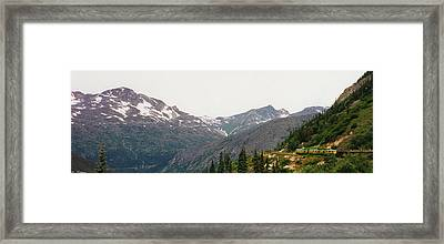 Alaskan Train Framed Print