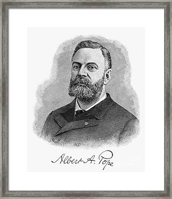 Albert Augustus Pope Framed Print by Granger