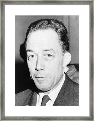 Albert Camus 1913-1960, Algeria-born Framed Print by Everett