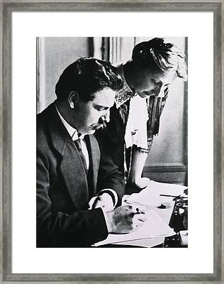 Albert Schweitzer 1875-1965 Framed Print