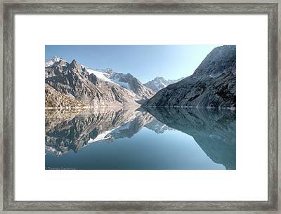 Albigna Lake Framed Print